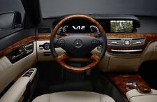 2007 - 2009 Mercedes-Benz S-Class W221 Video In Motion NVIM TV FREE VIM DVD