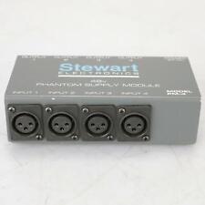 4 Rdl Sta-1 Stick-on Line Amplifier Transformers w/ Stewart Pm-4 #37927