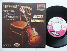ANDRE BENICHOU Guitare Bach Toccata & fugue .. V45 1610 FRANCE     RRR
