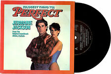"JERMAINE JACKSON - (CLOSEST THING TO) PERFECT - LTD ED 7"" 45 RECORD PIC SLV 1985"