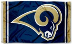 Rams Flag 3X5 Los Angeles Banner American Football New Fast USA Shipping 3 x 5