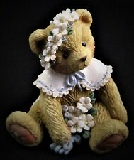 "1993 Cherished Teddies Friendship Is In Bloom ""May"" Figurine #914797 100% Mint!"