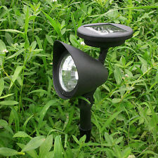 Solar 3LED Garden Lamp Spot Light Party Path Outdoor Spotlight Lawn Landscape UL