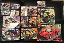 Lot of 12 Lego instruction manuals - LEGO Racers, Enzo Ferrari 8652