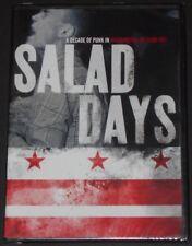 SALAD DAYS D.C. PUNK usa dvd new sealed MINOR THREAT fugazi GRAY MATTER soulside