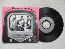 "45T 7"" CLAUDIA COLONNA ET SES GUEPARDS ""Rockabilly en télé"" CRAZY CAT CC 0023 §"