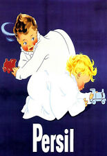 ART POSTER-Persil-Baby annonce d'impression A3