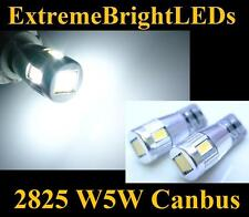 TWO Xenon HID WHITE 6-SMD Canbus Error Free LED Parking Eyelid Lights #89B