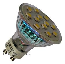 Gu10 12 Smd Led 2w 170lm Bulbo blanco ~ 35w