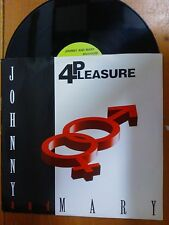 "DISCO 12"" VINILE - JOHNNY AND MARY - 4 PLEASURE - DANCE REMIX CLUB MIX EX-/EX-"