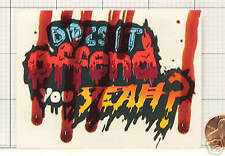 NEW Does it Offend you YEAH? PROMO STICKER DECAL EJ