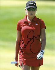 Natalie Gulbis Hand Signed 8x10 Photo LPGA Golf Autograph