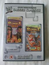 WWE Tagged Classics - Royal Rumble 1993 & 1994 (DVD) Rare 93 94