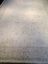 oriental persian afghan chobi carpet rug 100% handknotted wool  346x266cm vegi