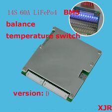 14 S 52 V 60 A BMS LiFePO 4 Cell batterie rjxzs équilibré E-Bike UK Vendeur Royaume-Uni Stocks