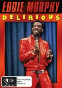 Eddie Murphy DELIRIOUS DVD 1983 Cult Classic Stand Up Comedy - ALL REGIONS