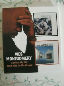 Wes Montgomery A Day In The Life/Down Here On The Ground 2on1 CD NEW SEALED Jazz