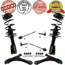 Front Control Arm Suspension Steering 10pc Kit For Cavalier Sunfire 2000-2005