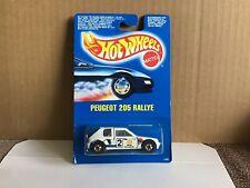 Hot Wheels 1989 Peugeot 205 Rallye Carded