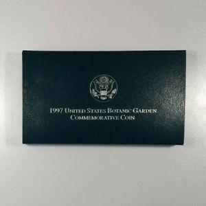 1997 United States Botanic Garden Commemorative Coin w/ COA and OGP*