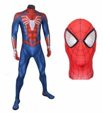 Adulto SPIDERMAN PS4 MARVEL FAR FROM HOME DELUXE Costume Muscolo Petto  da uomo