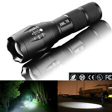 Super Bright XML T6 LED Zoomable 1000Lm High Power Flashlight Torch Light