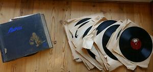 32 x Schellack Platten mit Album Beka