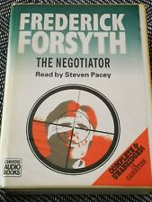 FREDERICK FORSYTH - THE NEGOTIATOR - Chivers audio book 14 CASSETTE