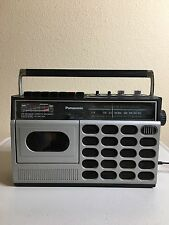 Vintage Panasonic Cassette Player-Radio Model No. RX-1660