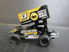 NEW # 13 Mark Dobmeier Buffalo Wild Wings 1:64th Sprint Car
