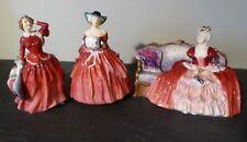 Royal Doulton Figurines - Ladies in Red