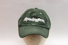 Remington Embroidered Youth Hat or Cap Cotton Green/Whit Heavy Nice Made