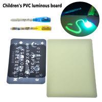 Sorteo A4 con Luz en Oscuridad Niños Sketchpad Juguetes Luminoso Tablero Dibujo