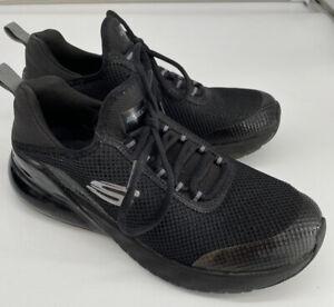 SKECHERS SKECH-AIR ELEMENT BLACK TRAINERS UK SIZE 5 VGC