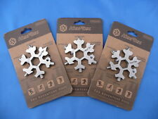 ***3pc Lot*** HexFlex Unibody Mult-Tool Stainless Steel Standard $16.50 Each