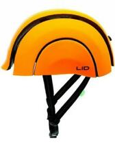 Foldable Cycle Helmet by LID for Road Commuters Rear Light and Self-adjusting UK