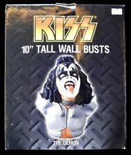 """KISS - 10"""" TALL WALL BUSTS """"THE DEMON"""" Gene Simmons - New in Box"""