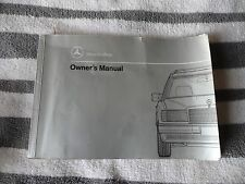 1991 Mercedes 300TE 4-matic owners manual used original good condition