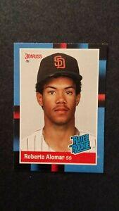 1988 Donruss Roberto Alomar #34 RC Rookie Card NM/Mint