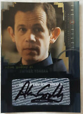X-Files I Want To Believe Trading Card A6 Adam Godley as Father Ybarra Autograph