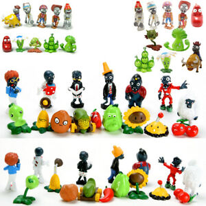 Plants vs Zombies PVC Action Figures Toys Gift Set / Birthday Party Cake Topper