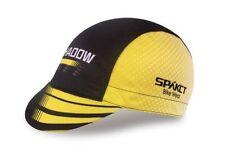 SPAKCT Cycling Outdoor Bike Cap Hat Sunhat Suncap Sunprotection Black Yellow
