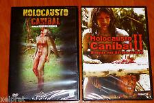 HOLOCAUSTO CANIBAL I y II - CANNIBAL HOLOCAUST I y II - DVD R2 - Precintada