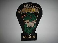 MACV-SOG RT ANACONDA CCN RECON US 5th Special Forces Group - Vietnam War Patch