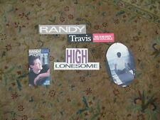 Randy Travis High Lonesome Video CD Cassette Music Promo Store Display Mobile