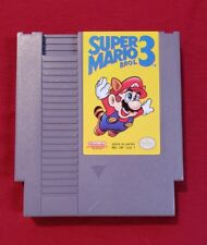 Super Mario Bros. 3 (Nintendo, 1990) NES Tested & Works Great!