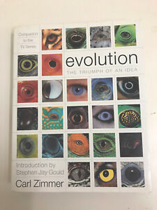 Evolution The triumph Of An Idea Carl Zimmer Companion To The TV Series rrp $79