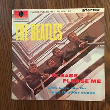 THE BEATLES - PLEASE PLEASE ME - STEREO - 1970s Reissue Parlophone LP