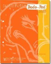 Dodo Pad LOOSE-LEAF Desk Diary 2020 - Week to View Calendar Yea... 9780857702210