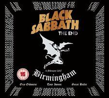BLACK SABBATH - THE END (LIVE IN BIRMINGHAM,DVD+CD)   DVD+CD NEW+